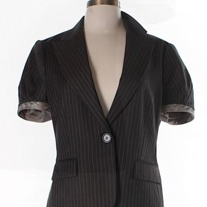Gorgeous Chocolate Brown BCBG Max Aria Blazer NWOT